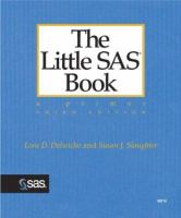 The little SAS book [electronic resource] : a primer