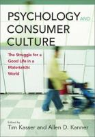 Psychology and Consumer Culture