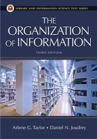 The Organization of Information catalog link