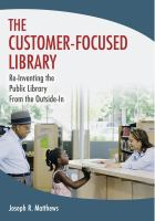 The Customer-Focused Library catalog link