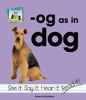 -Og as in dog