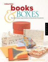 Creating Books &amp; Boxes