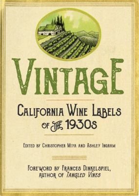 California wine labels of the 1930s