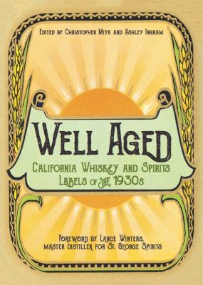 California whiskey and spirits labels of the 1930s