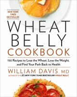 Cover Image of Wheat belly cookbook