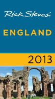 Rick Steves' England 2013