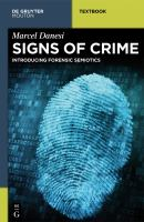 Signs of crime : introducing forensic semiotics