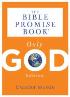 The Bible Promise book : only God edition