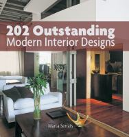 202 outstanding modern interior designs cover