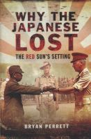 Why the Japanese lost : the red sun's setting