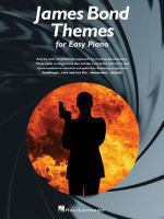 James Bond themes : for easy piano.