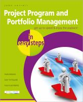 Project, Program and Portfolio Management in Easy Steps