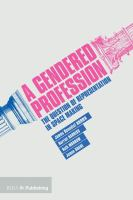 A gendered profession : the question of representation in space making cover