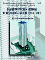 Design of modern highrise reinforced concrete structures [electronic resource]