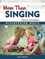 More Than Singing
