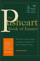 The Pushcart Book of Essays