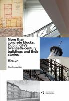 More than concrete blocks : Dublin city's twentieth century buildings and their stories