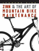 Zinn &amp; the Art of Mountain Bike Maintenance
