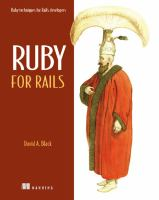 Ruby for Rails catalog link