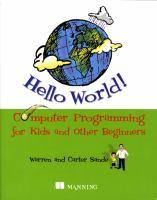 Hello World catalog link