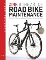 Zinn & the Art of Road Bike Maintenance