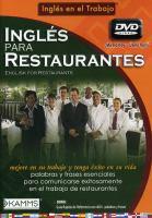 Ingles para restaurantes
