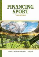 Financing sport