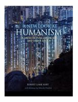 A new look at humanism : in architecture, landscapes, and urban design cover