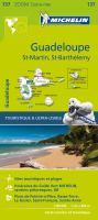 Guadeloupe, St-Martin, St-Barthélemy : carte routière et touristique /