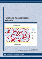 Functional nanocomposite materials [electronic resource] : special topic volume with invited peer reviewed papers only