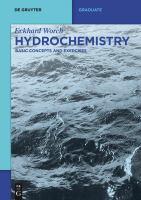 Hydrochemistry [electronic resource].