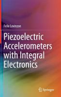 Piezoelectric accelerometers with integral electronics cover