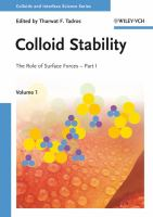 Colloid stability [electronic resource] : the role of surface forces