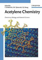 Acetylene chemistry [electronic resource] : chemistry, biology, and material science