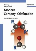 Modern carbonyl olefination [electronic resource]