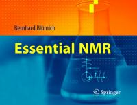 Essential NMR for scientists and engineers [electronic resource]