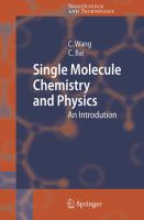 Single molecule chemistry and physics [electronic resource] : an introduction