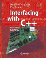 Interfacing with C++ [electronic resource] : programming real-world applications