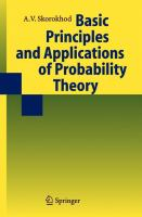 Basic principles and applications of probability theory [electronic resource]