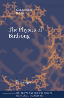 The physics of birdsong [electronic resource]