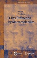 X-ray diffraction by macromolecules [electronic resource]