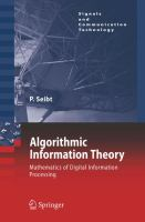 Algorithmic information theory [electronic resource] : mathematics of digital information processing