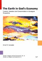 Earth in God's economy : creation, salvation and consummation in ecological perspective /