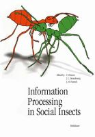 Information processing in social insects