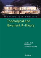 Topological and bivariant K-theory [electronic resource]