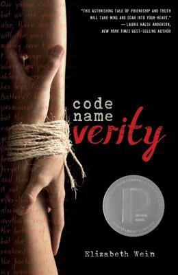 Cover Image for Code Name Verity  by Elizabeth Wein