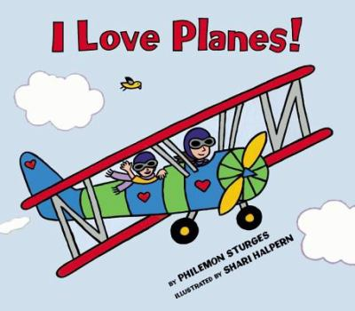 Cover Art for I love planes!