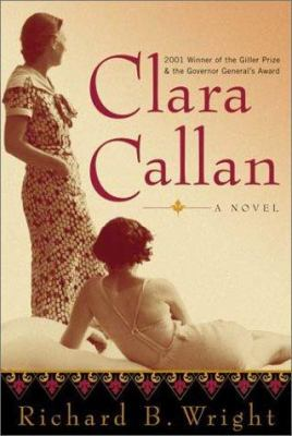 Cover Art for Clara Callan : a novel 