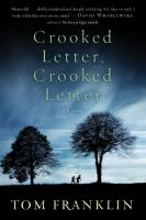 book jacket for Crooked Letter, Crooked Letter