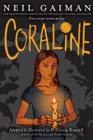 book cover image for Coraline